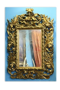 Mirror Italy, late 18th century Dimensions: 143 cm/90 cm