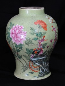 Vase Porcelain, China, late 19th century Height: 37 cm