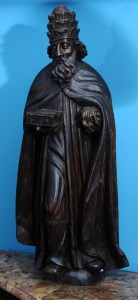 St Peter, figurine Wood, 16th century Northern Italy Height: 88 cm