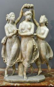 Figurine,Italy 19th century Height 67 cm