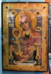 Icon of the mother of God,Imperial Russia,middle od the 19th century