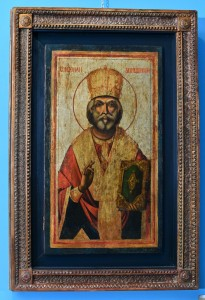 St. Nicholas,Serbia.The end of 18th century and the beginning of 19th century.Dimensions  105 x 71 cm