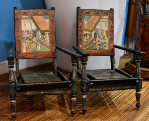 Chairs  pair,Persia ,from 1930-1940