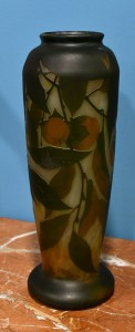 Vase Daun Nansy.France,1905.  Height 42 cm